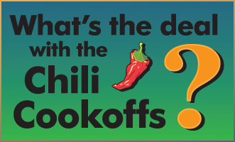 Why Chili Cookoffs?